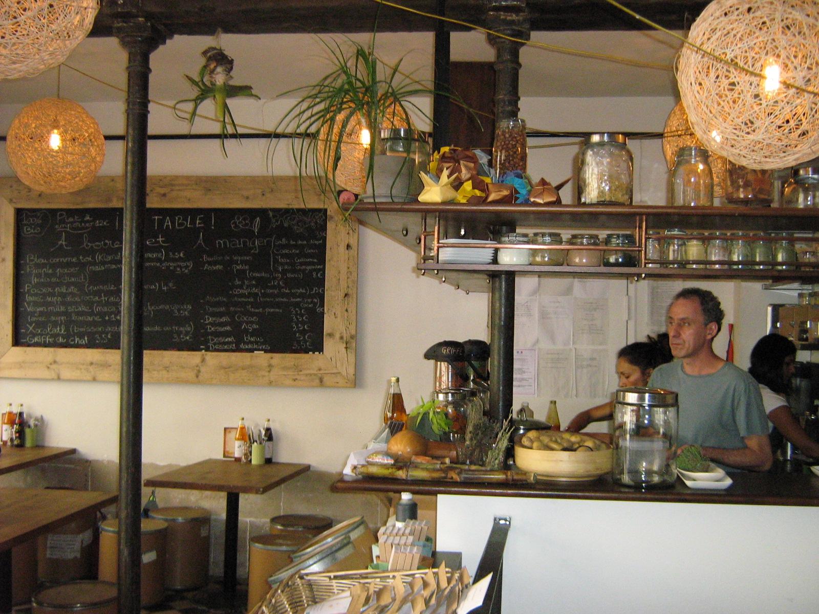 Bar des artisans voy alimento le concept restaurant sant de paris bien dans ma cuisine - Restaurant rue des vinaigriers ...
