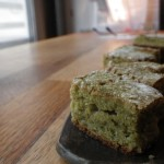"""Délice, ce gâteau au thé vert """"tout simple"""" !"""