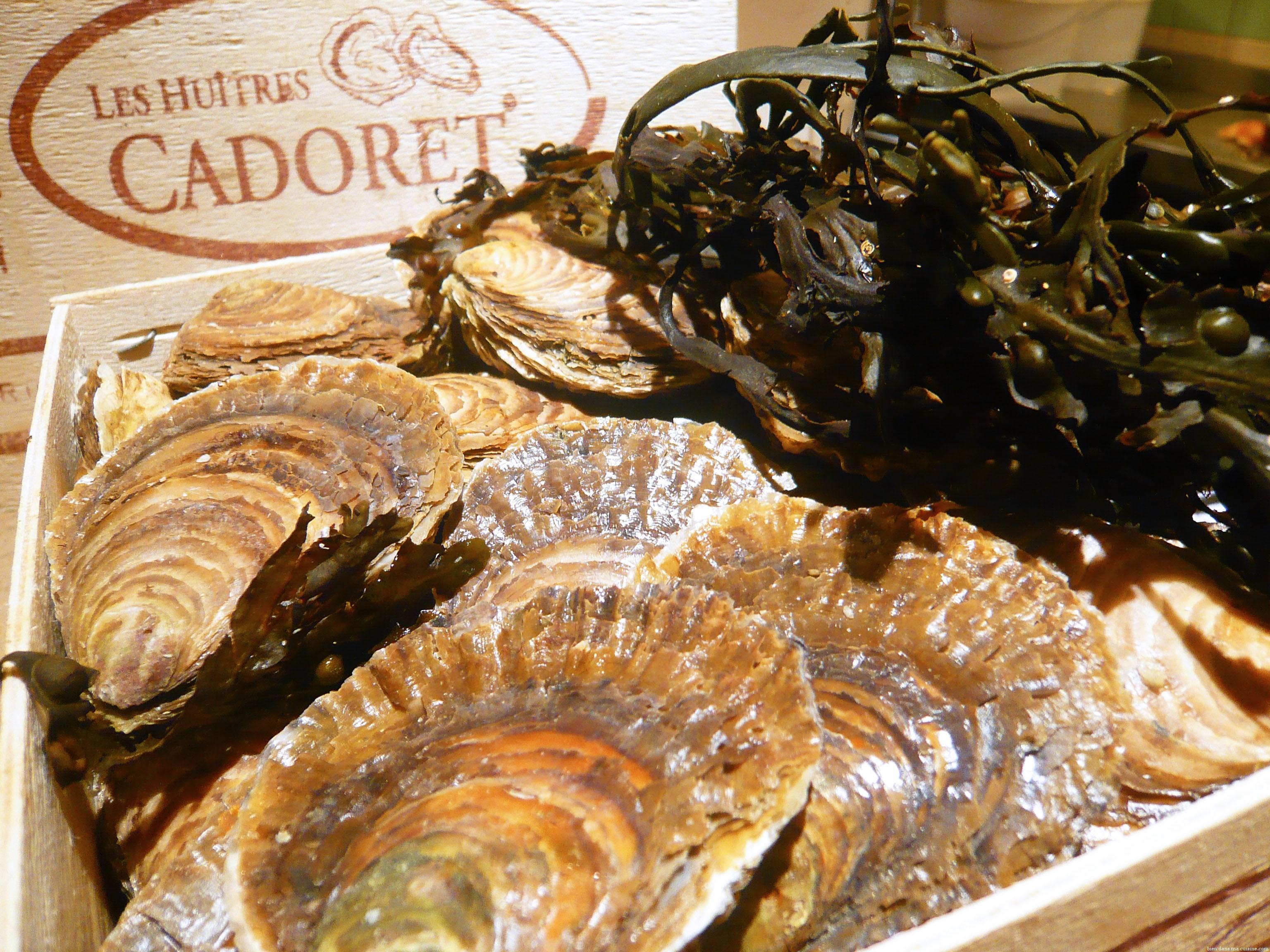 Les fameuses huîtres Cadoret.
