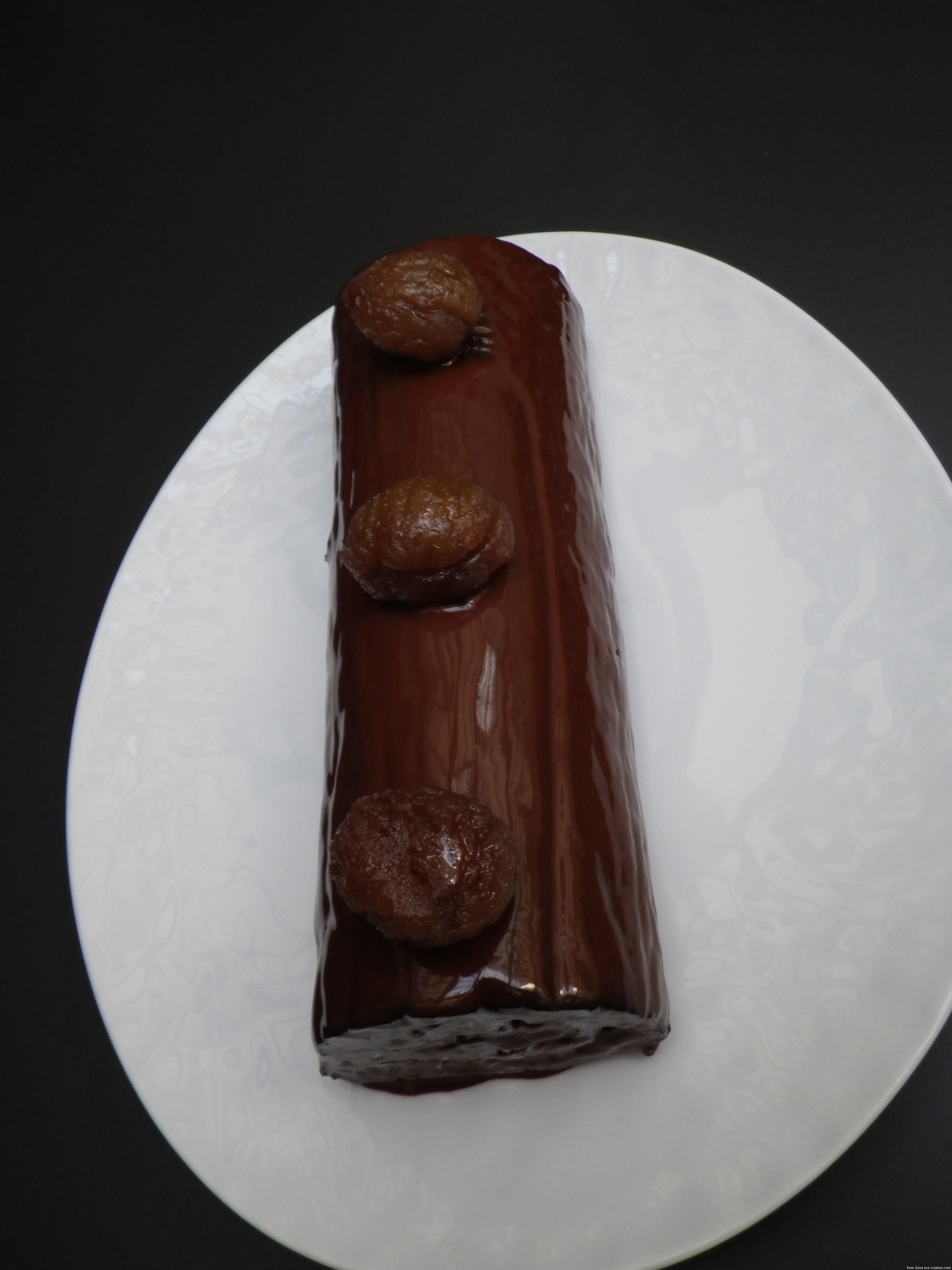 La b che aux marrons et au chocolat pour le r veillon de - Offrir un cours de cuisine avec cyril lignac ...