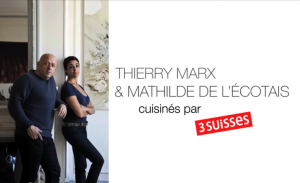 thierry marx et mathilde de l ecotais aux 3 suisses bien dans ma cuisine. Black Bedroom Furniture Sets. Home Design Ideas