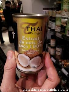 extrait noix de coco