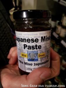 pâte miso