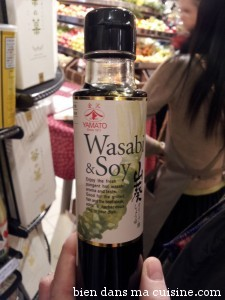 soja et wasabi