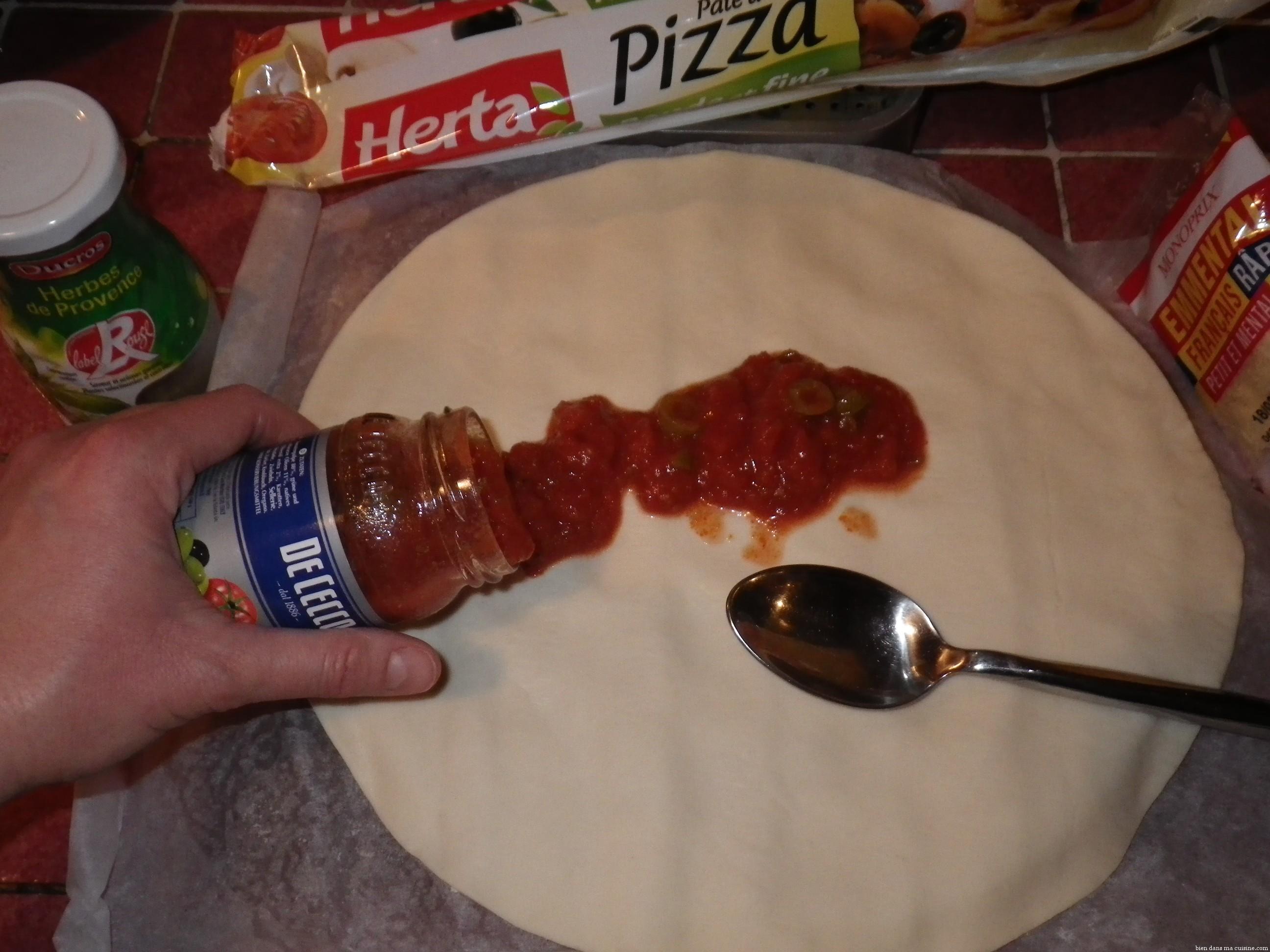une pizza quot maison quot en 2 minutes chrono bien dans ma cuisine