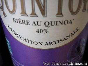 Bière de quinoa