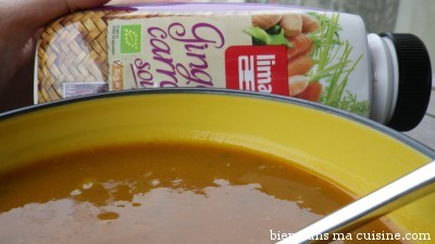 soupe carotte gingembre