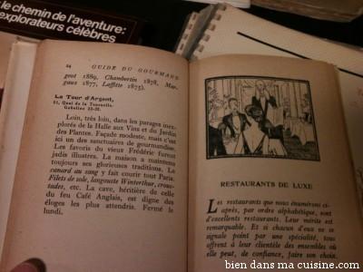 Donc, dans ce guide, la Tour d'Argent ne faisait pas partie des restaurants de luxe.