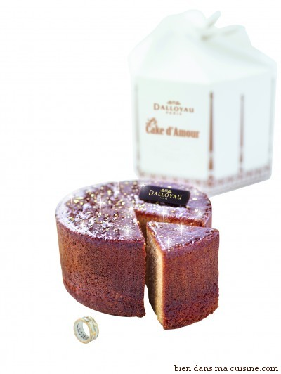 Cake d'Amour Dalloyau - packshot