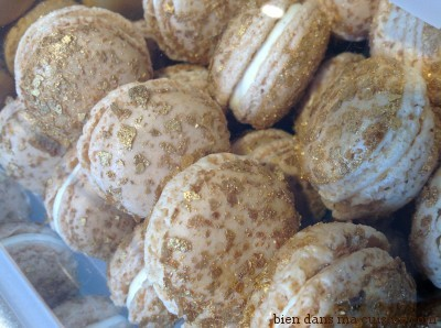Les macarons à la vanille et  au jasmin. Spéciale dédicace à Marie-Antoinette !