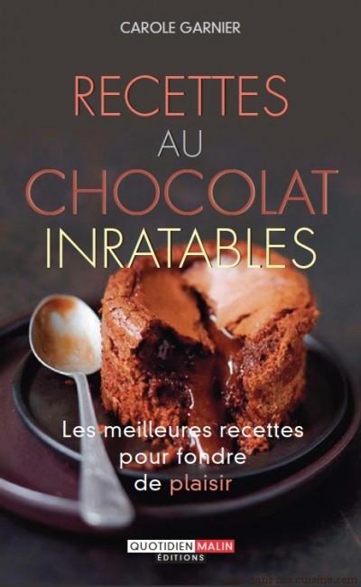 Recettes au chocolat inratables