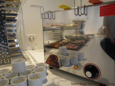 buffet cuiseur oeufs
