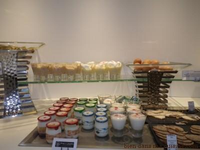 buffet lacté