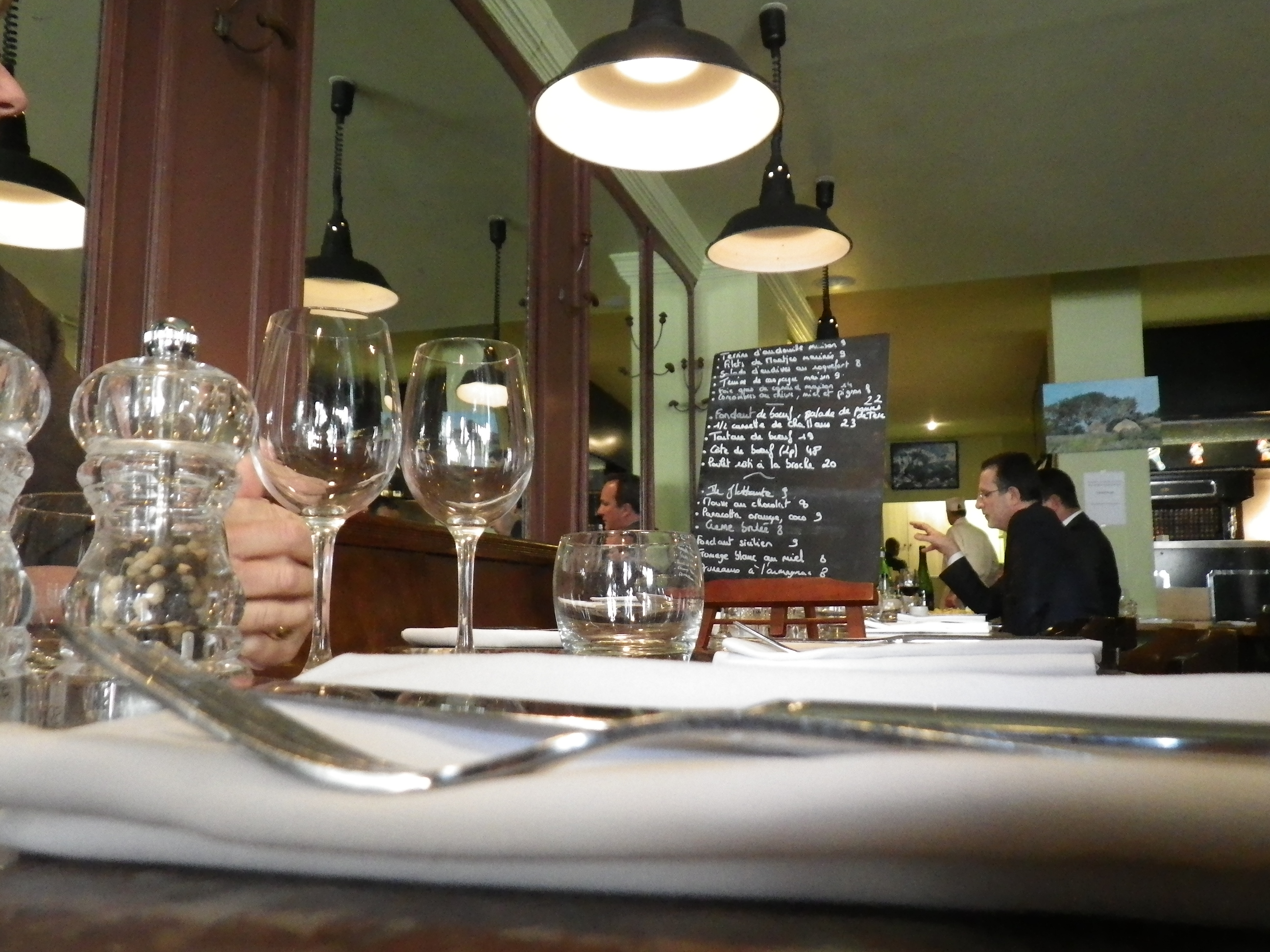 O manger une excellente c te de boeuf paris chez g g - Paris dans ma cuisine ...