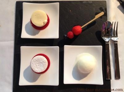 Le dessert.