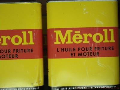 huile pour friture et moteur