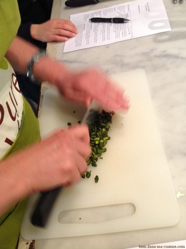 Encore des pistaches, pour la suite (la déco).