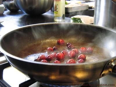 cranberry poêlée avec beurre et sirop de sucre de canne3