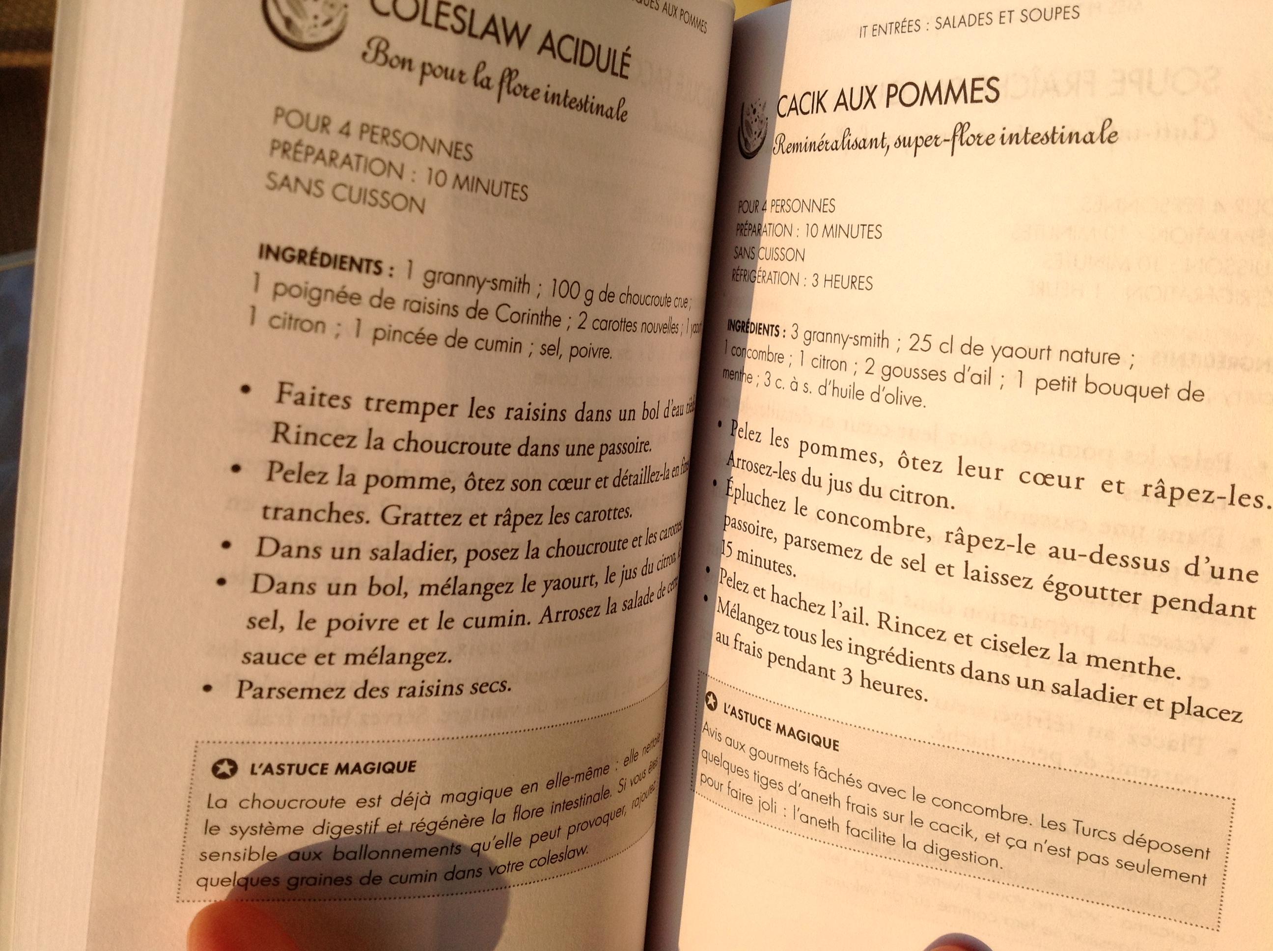 Mes petites recettes magiques aux pommes bien dans ma for J apprends a cuisiner