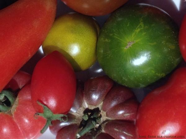 Les tomates anciennes de Sophie (voir légendes plus bas :-)