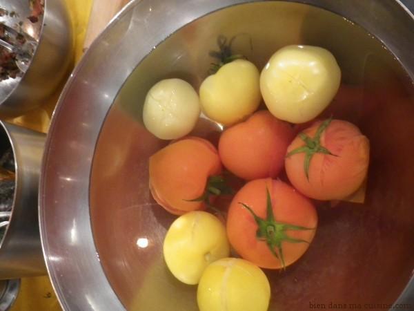 Des tomates de 2 couleurs dans un même plat, ça fait toujours son petit effet en cuisine !