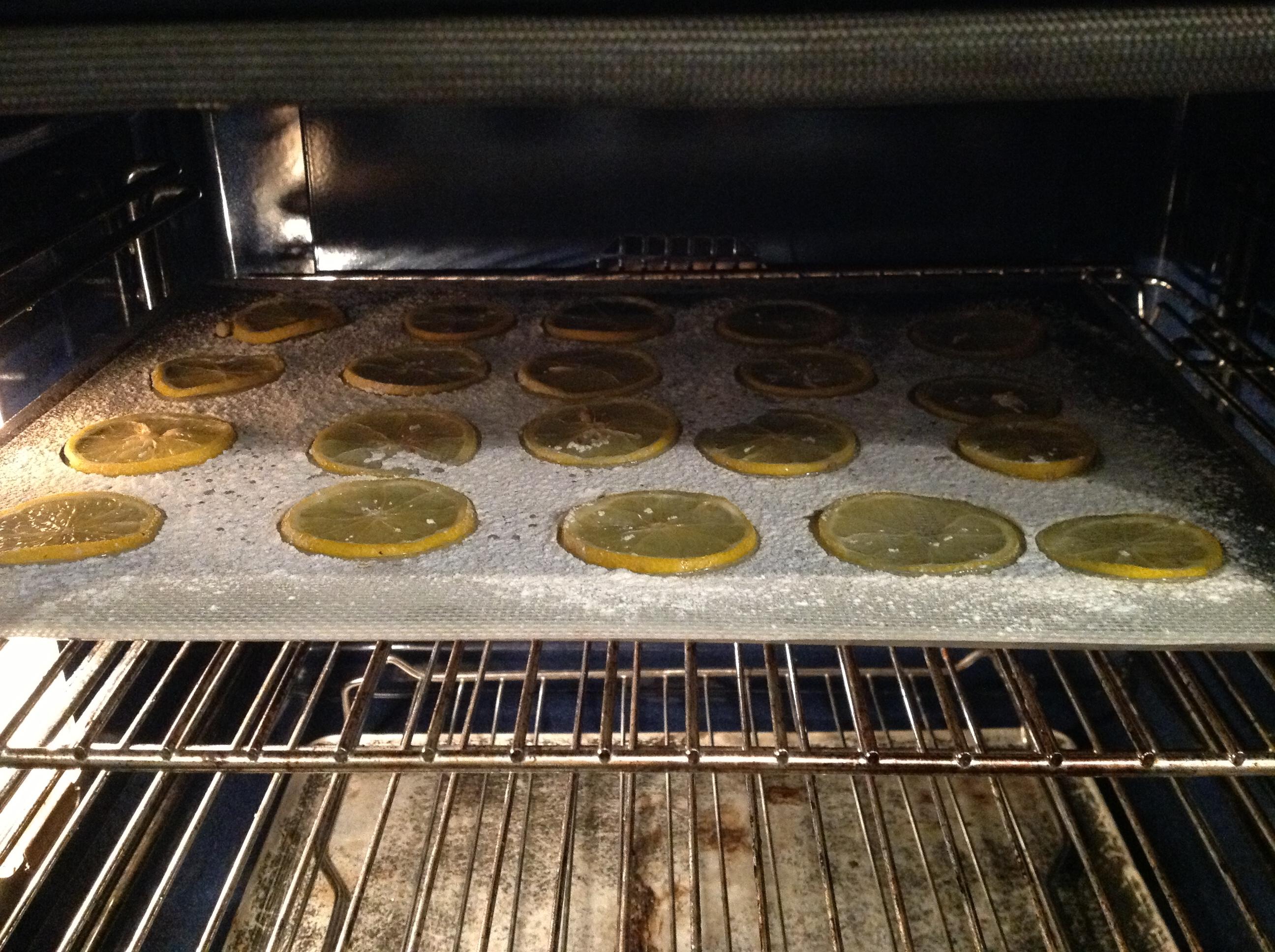 Le on de p tisserie faire s cher des rondelles de citron - Faire secher des hortensias ...