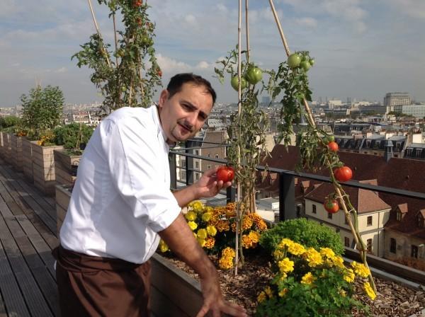 Eric Castandet, chef de cuisine au Terroir Parisien.