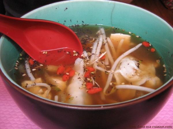 """La soupe """"passe"""" souvent mieux que les aliments solides, surtout en cas d'aphtes et de douleurs dans la bouche."""