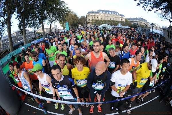 Départ Ekiden de Paris (Photo running)