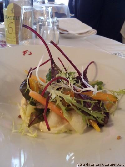 Salade verger