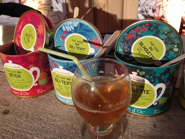 cocktail au thé vert