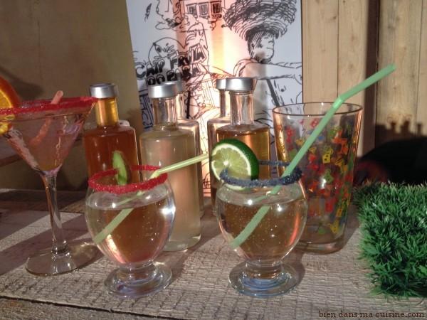 cocktails sirops Nature et découvertes