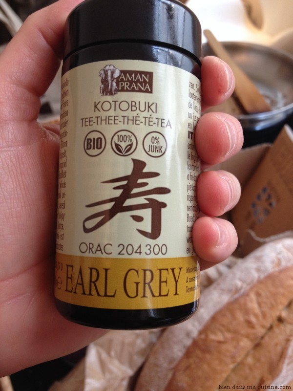 earl grey thé poudre