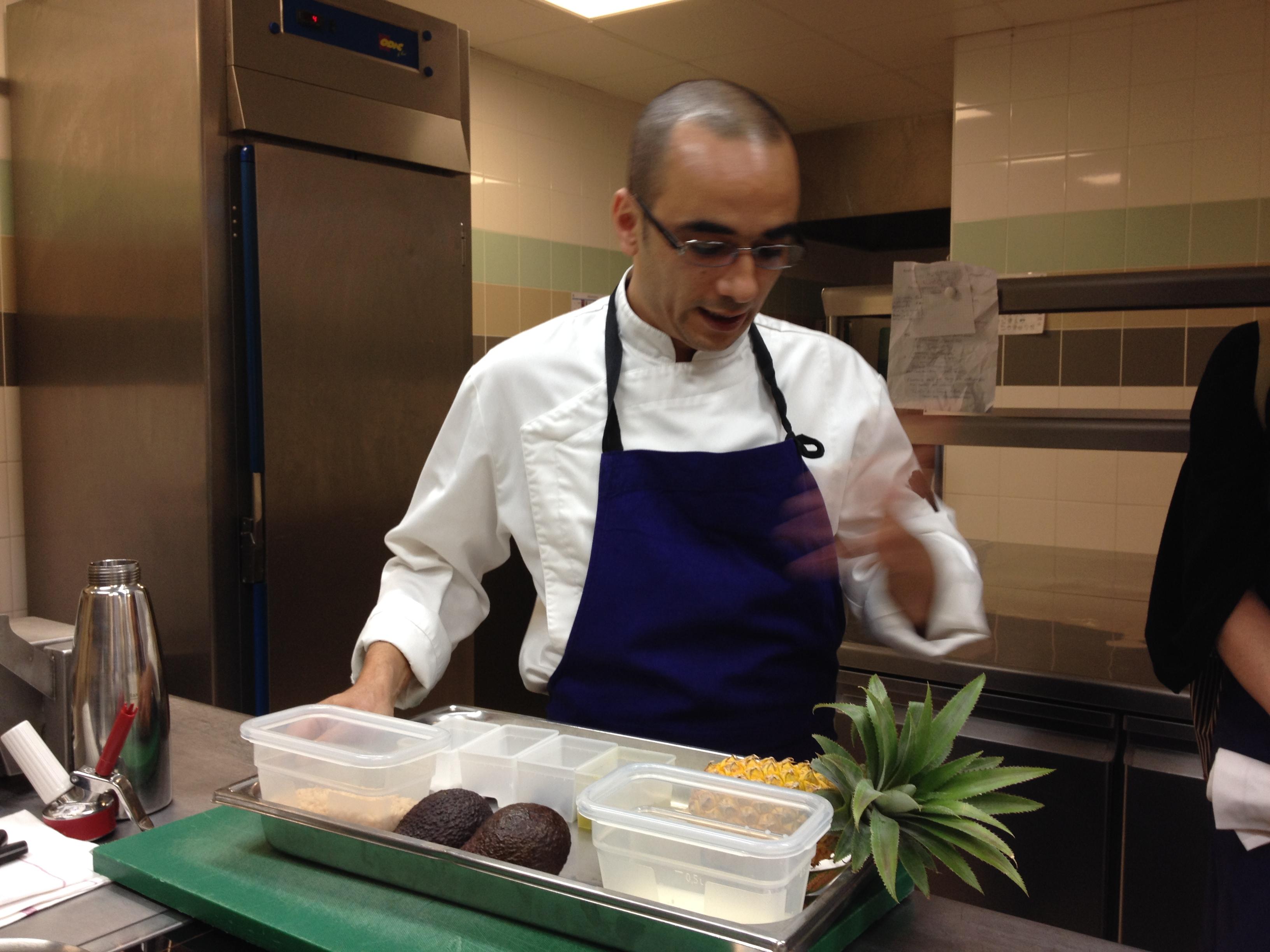 Cours cuisine le chef bien dans ma cuisine - Cours cuisine grand chef ...