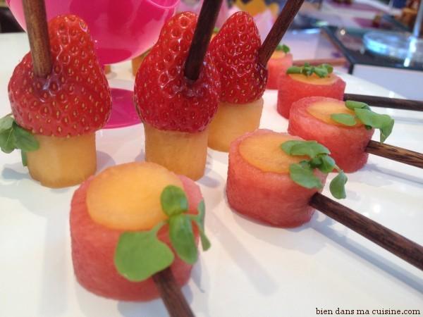 pastèque fraise melon