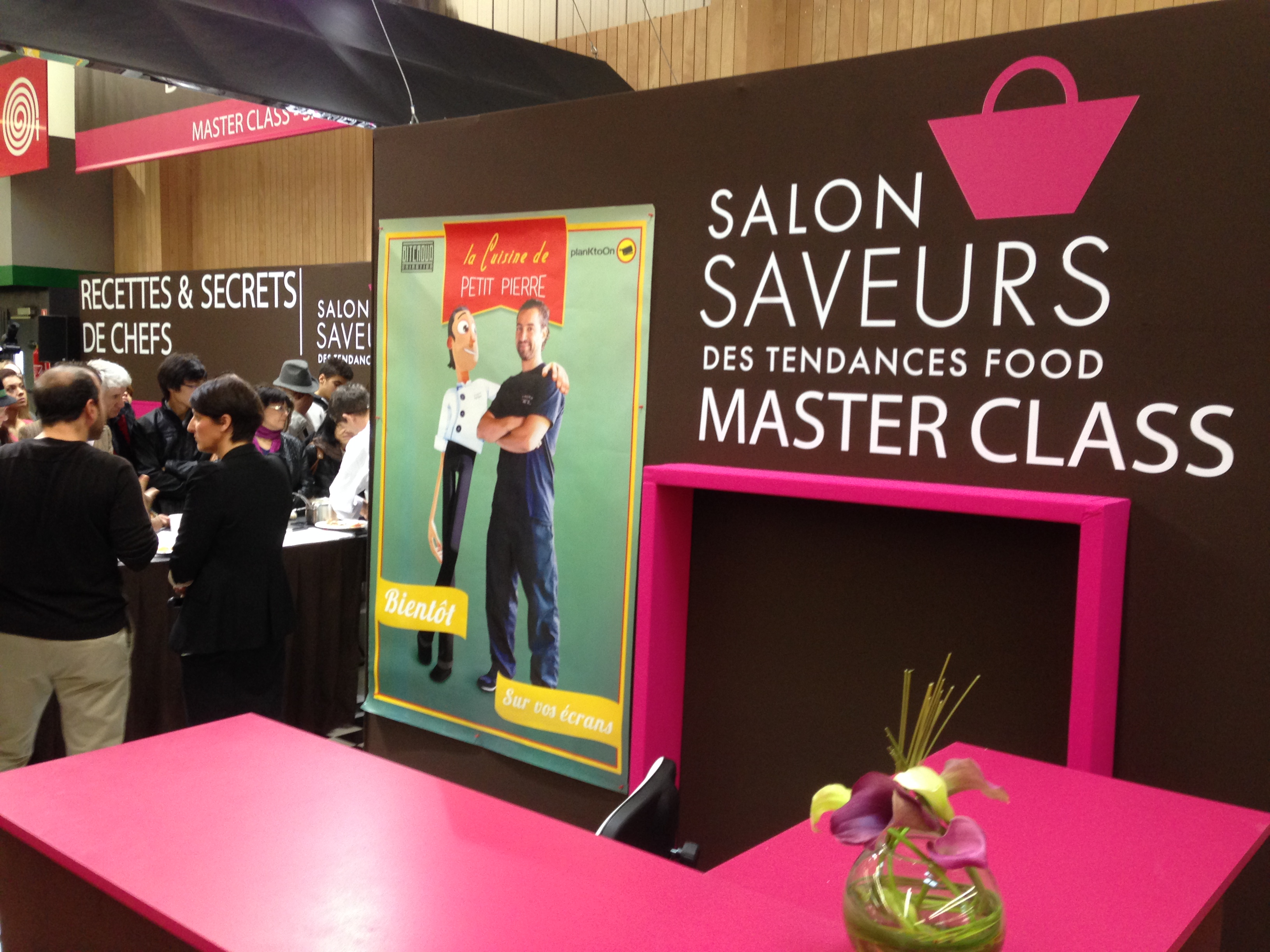 vital food au salon saveurs des plaisirs gourmands 2014