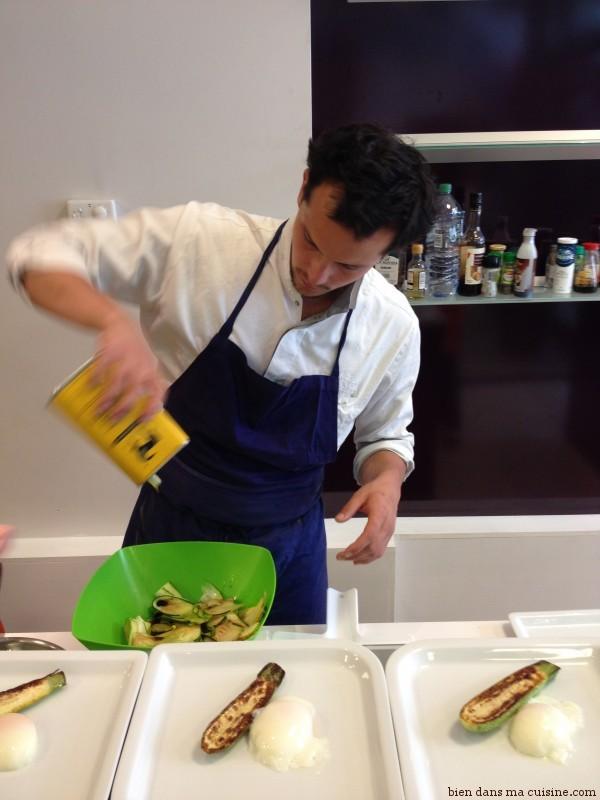 Ajoutez un peu d'huile d'olive, comme le chef !