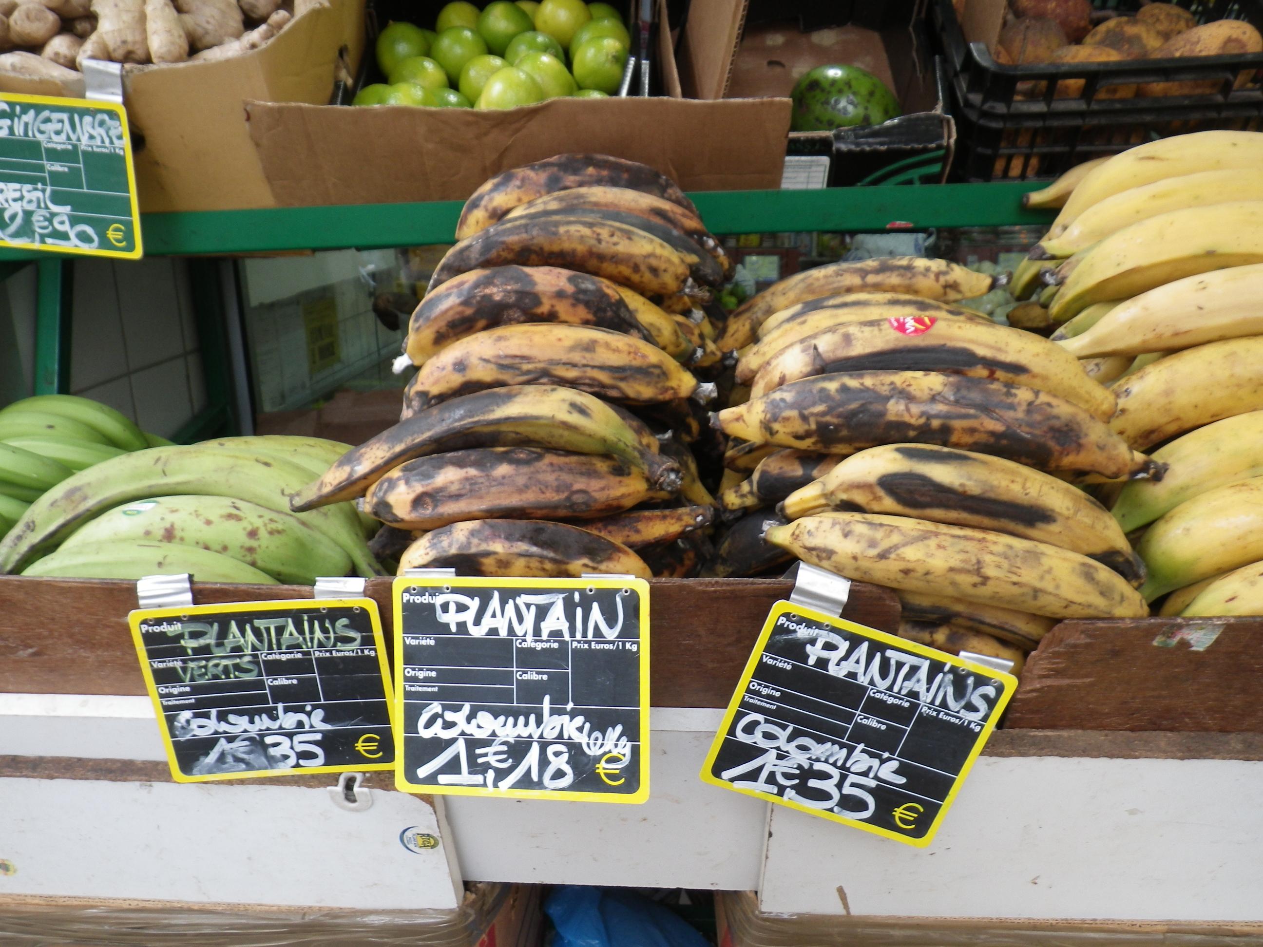 Bananes plantain 2 bien dans ma cuisine - Cuisiner bananes plantain ...