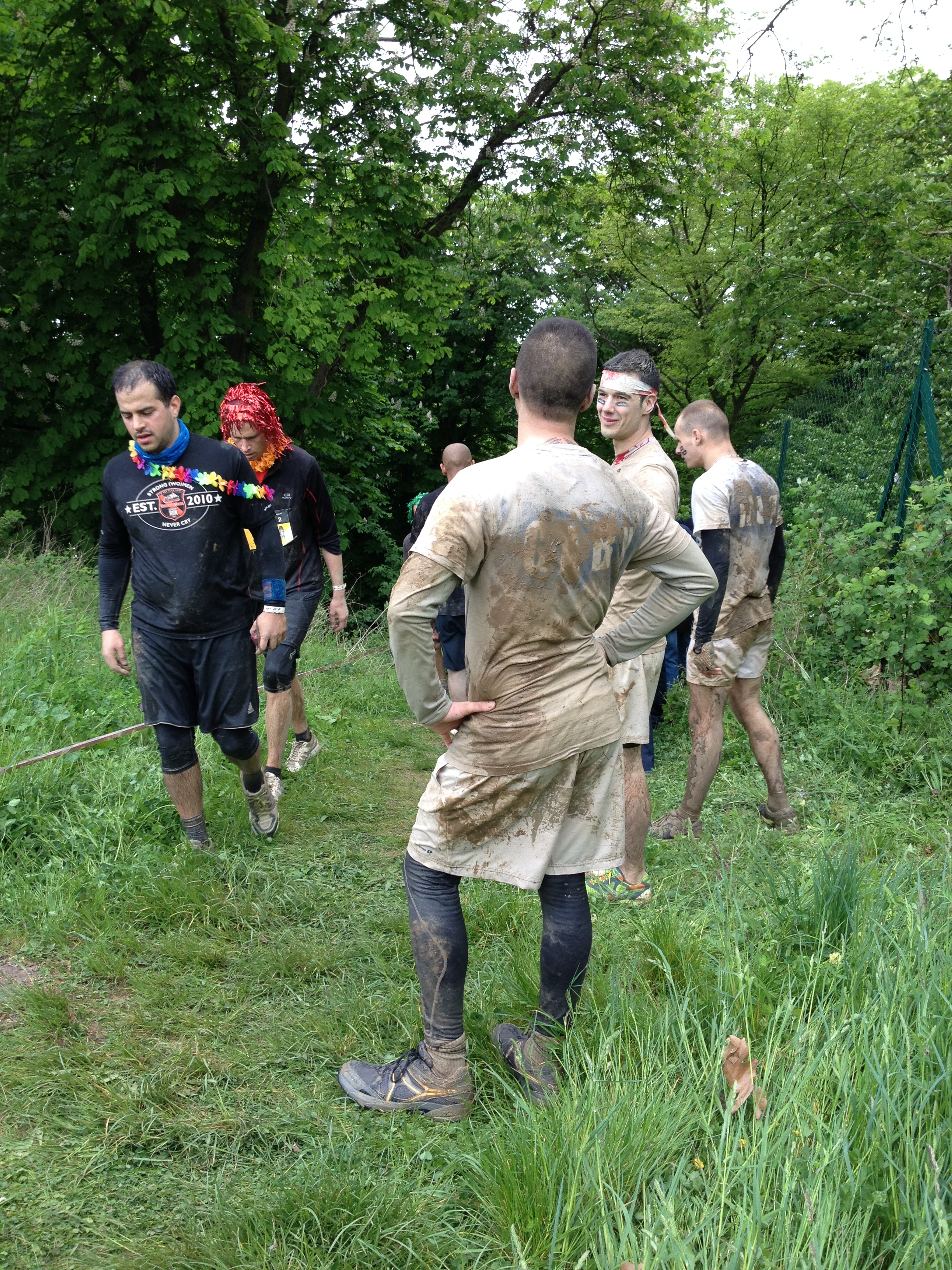 Mud day fin de parcours troupes pas tr s fra ches for J apprends a cuisiner